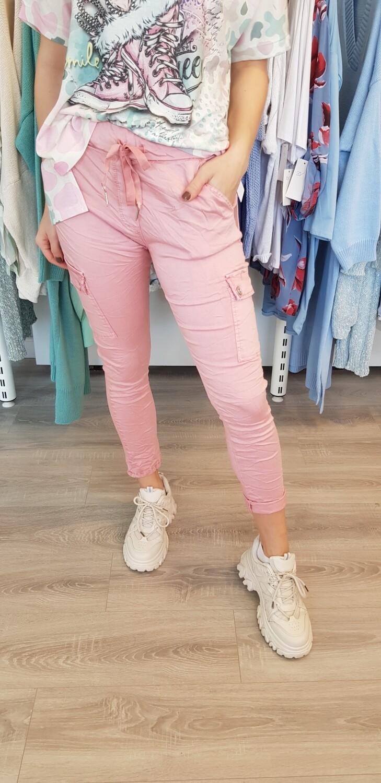Cargo broek roze