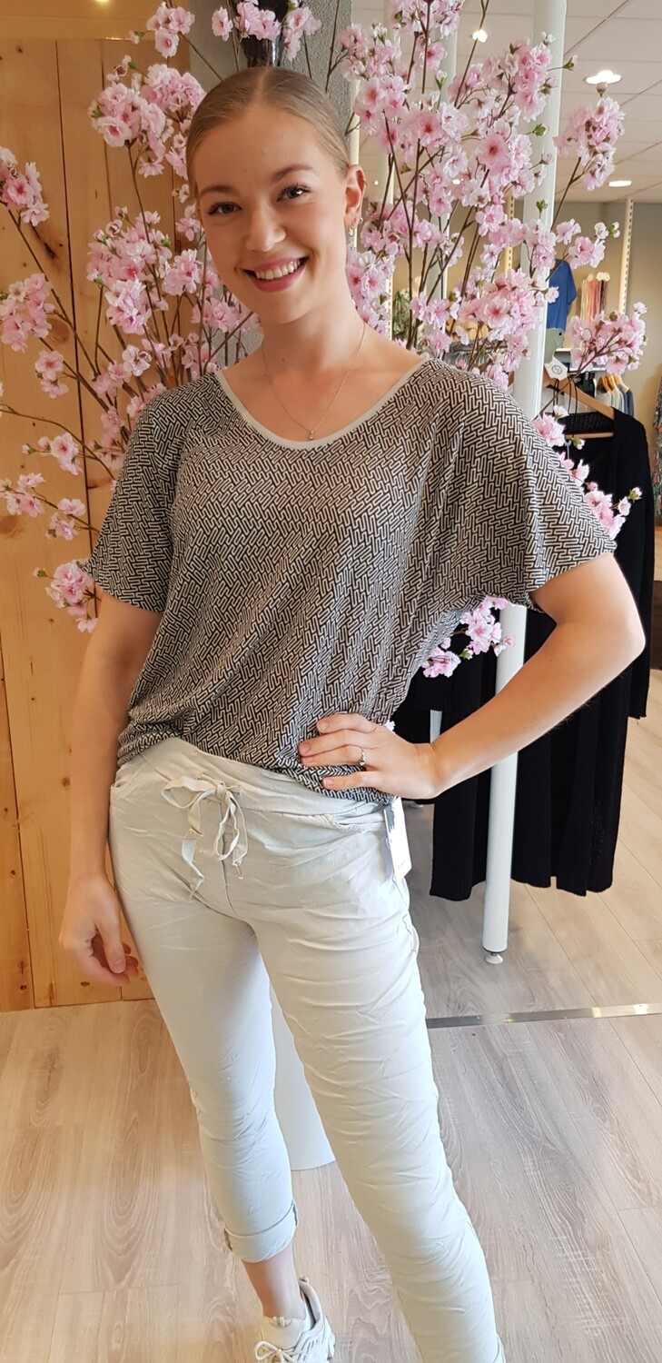 Top taupe Elle