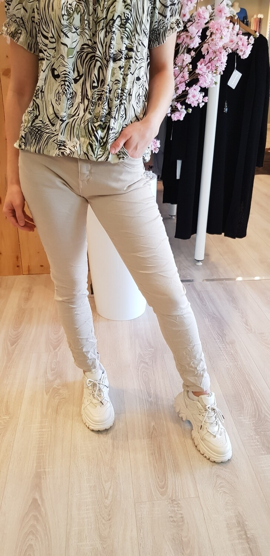 Karostar jeans beige