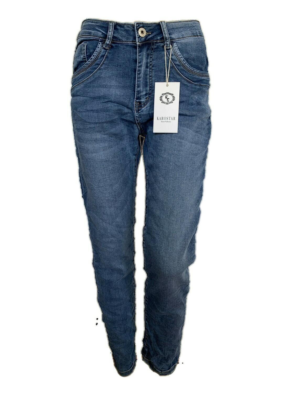 Karostar jeans met rits