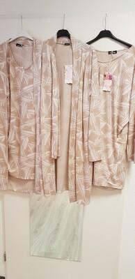 Driehoek  tuniek roze