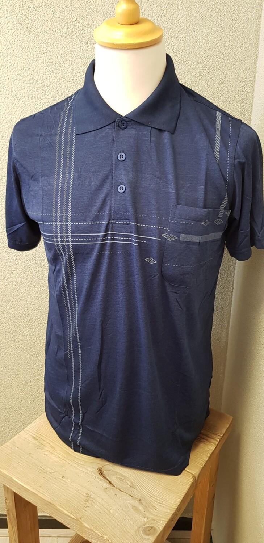 Polo shirt Monday blauw