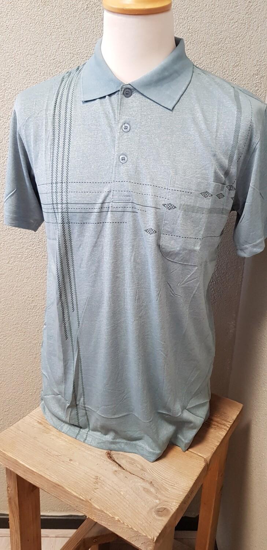 Polo shirt Monday groen