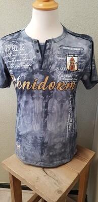 Violento shirt Benidorm grijs