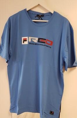 Desire Tshirt blauw