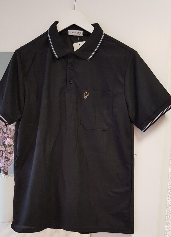 PoloShirt Lanzans zwart