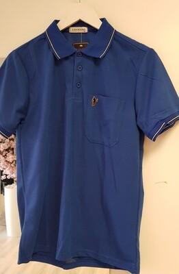 Poloshirt Lanzans kobalt blauw