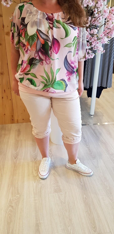 Size Plus capri roze