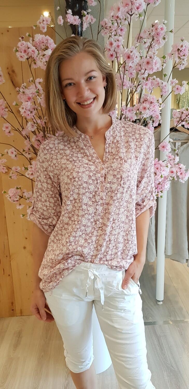 Blouse Flora roze