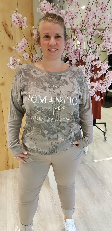 Longsleeve Romantic Taupe