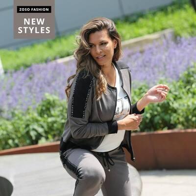 Sporty printed trouser Simone