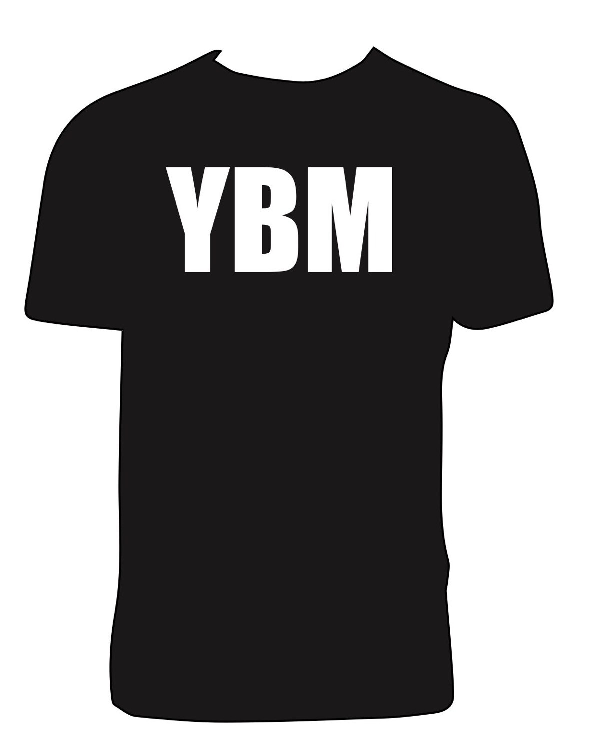 YBM Branded  and Logo Short Sleeve Tee(two options)