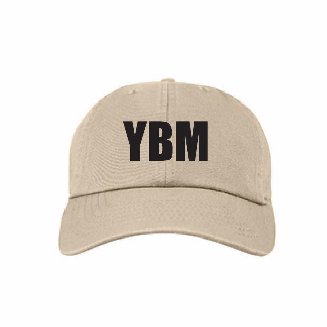 YBM Branded and Logo Stamp Hat