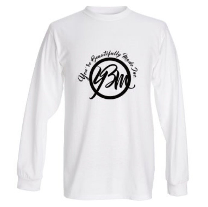 YBM Logo Stamp Long Sleeve Tee