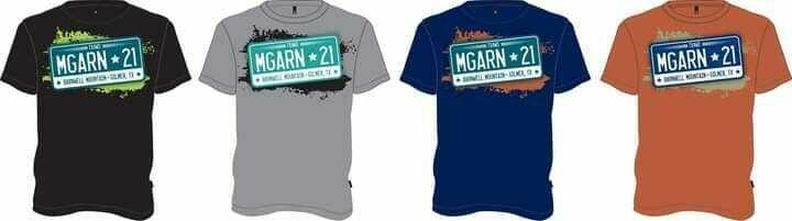 Mega Run 2021 Event Shirts