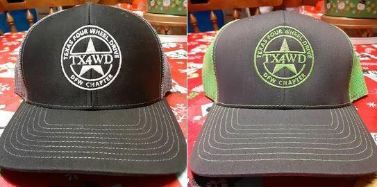 DFWTX4WD Club Hats
