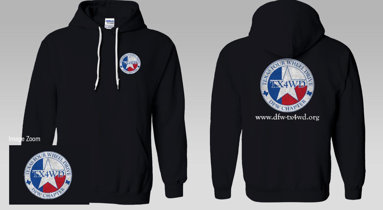 DFW-TX4WD Club Hoodie