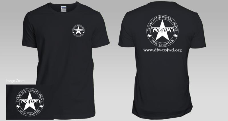 DFW-TX4WD Club T-Shirt