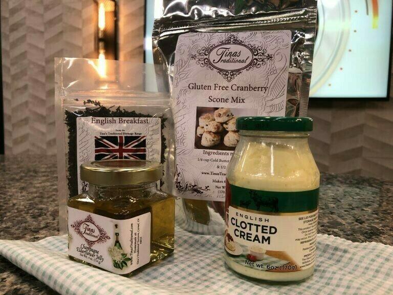 Double Cream Tea Box Care Package