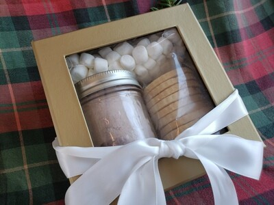 Holiday Hot Chocolate and Cookie Package