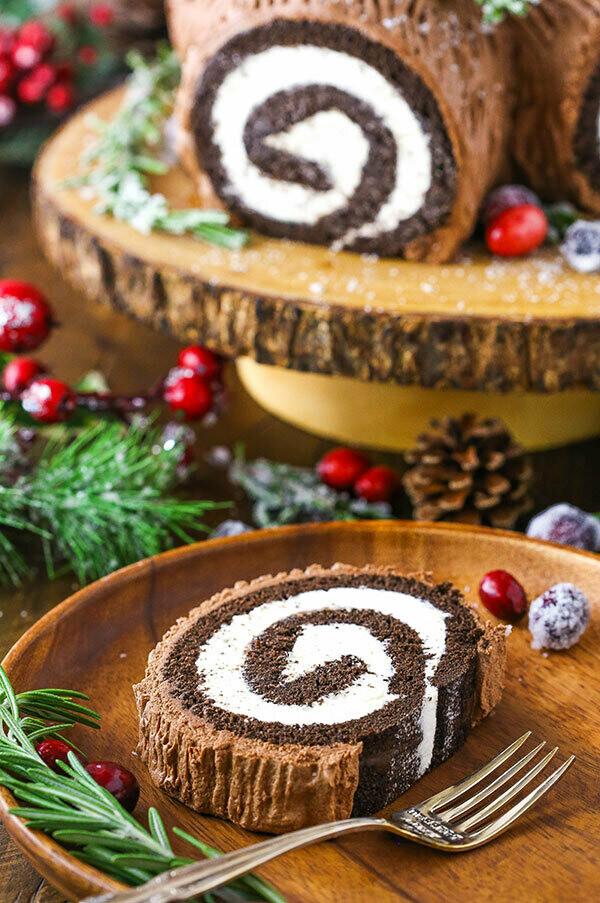 Christmas Yule Log Cake Mix