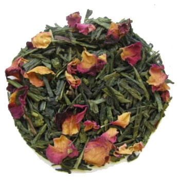 Green Tea with Raspberry, Rose & Lemon
