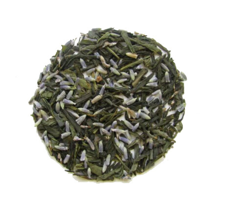 Green Tea with Blueberry & Lavender