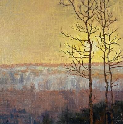 Sunrise, SOLD 18x18