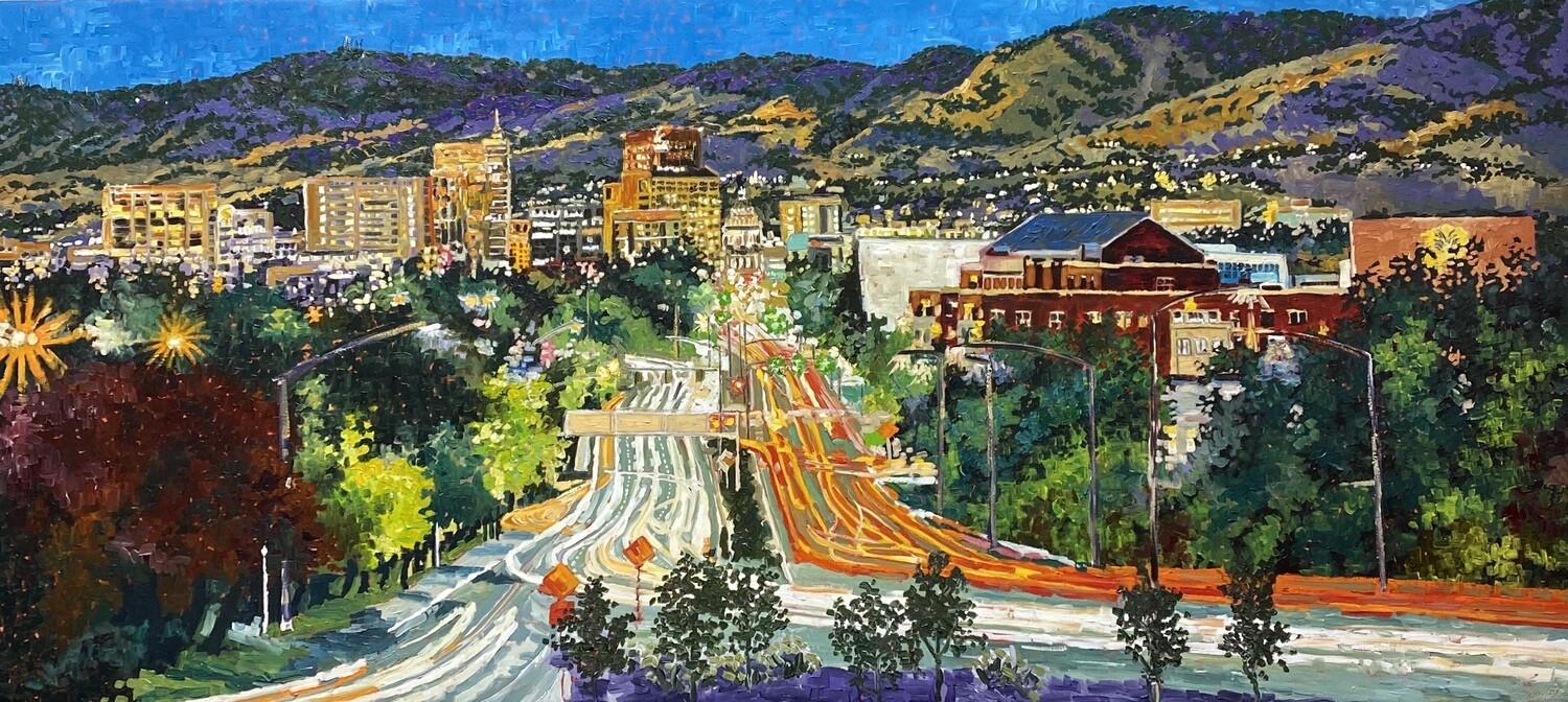 Beyond Boise and the Foothills, SOLD 24x72