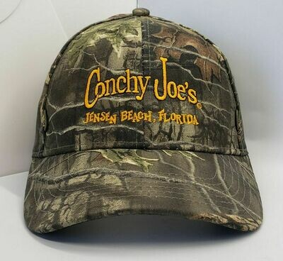 CJ's Camo Adjustable Baseball Cap