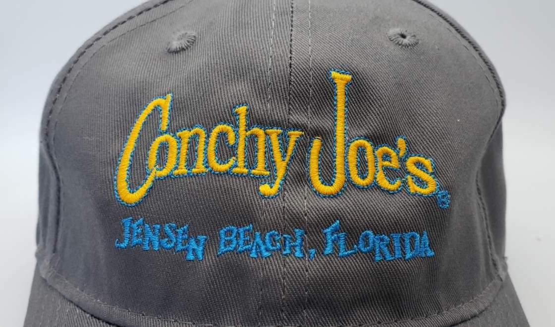 CJ's Grey Adjustable Baseball Cap