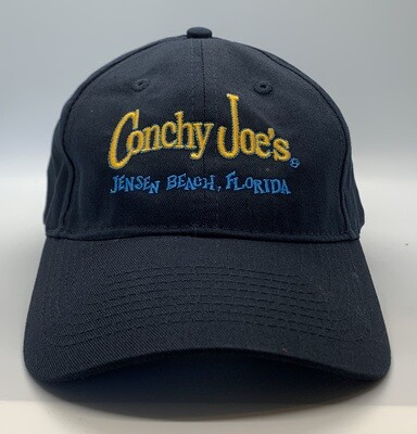 Cj's Navy Adjustable Baseball Cap