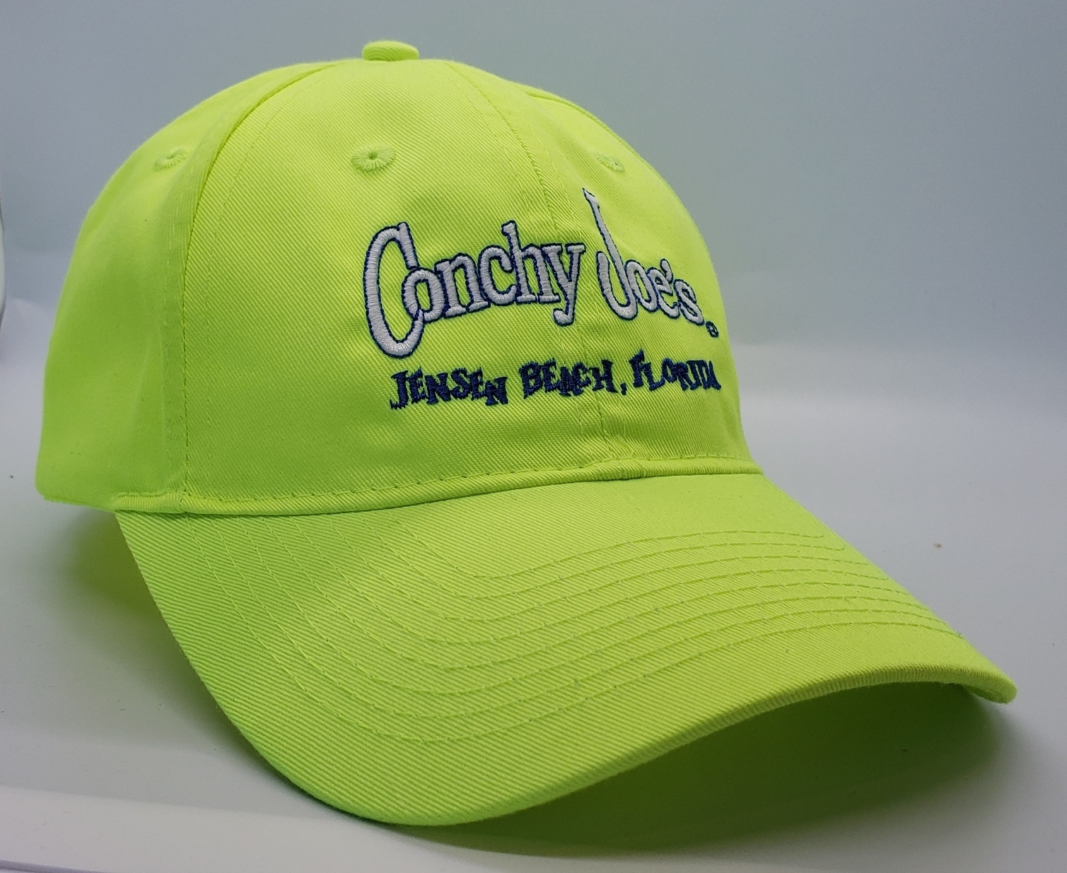 Cj's Neon Yellow Adjustable Baseball Cap