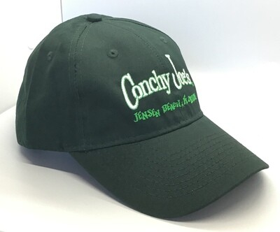 CJ's Hunter Green Adjustable Baseball Cap