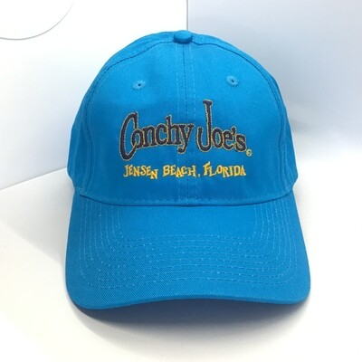 Cj's Ocean Blue Adjustable Baseball Cap