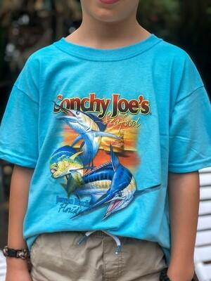 Kids 3 Fish Tee