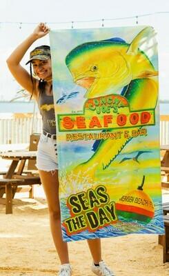 Seas the Day Beach Towel