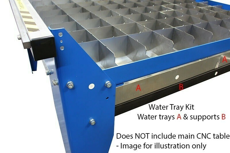 2x2 water tray