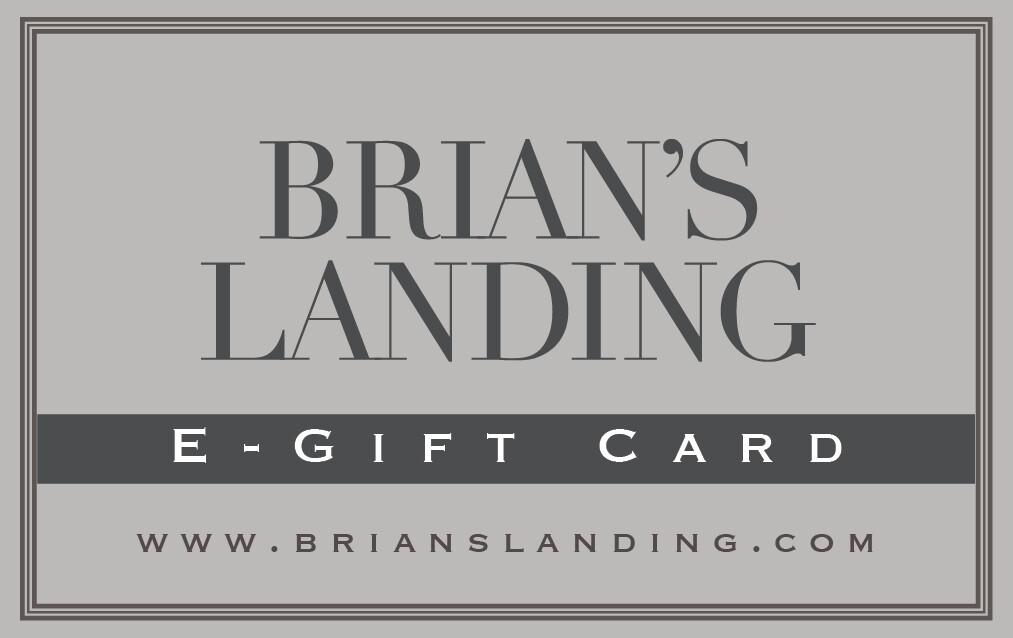 Brian's Landing E-Gift Card