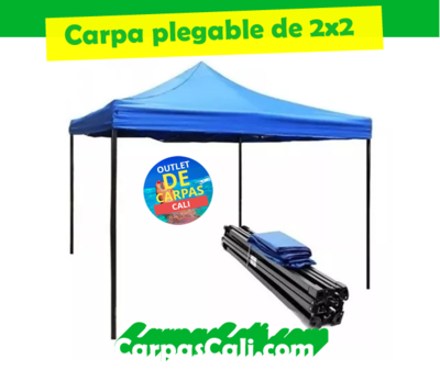 CARPA PLEGABLE DE 2X2 IMPERMEABLE