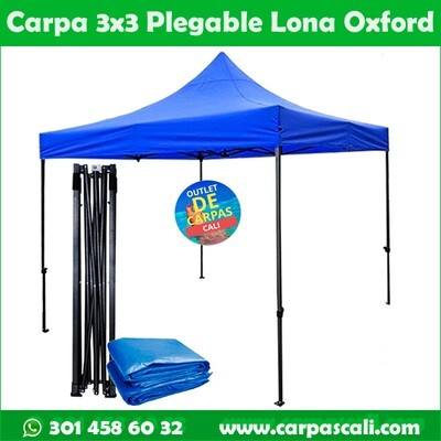 CARPA PLEGABLE DE 3X3