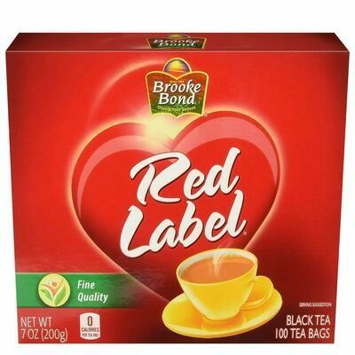 BROOKE BOND RED LABEL TEA BAG 7 OZ