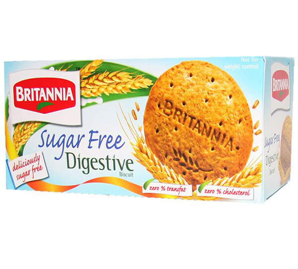 BRITANIA SUGAR FREE DIGESTIVE BISCUIT 225 G