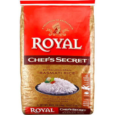 ROYAL CHEF SECRET BASMATI RICE 10 LB