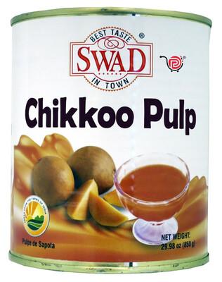 Swad Chikkoo Pulp 850g