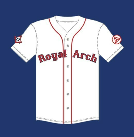 Royal Arch Baseball Jersey