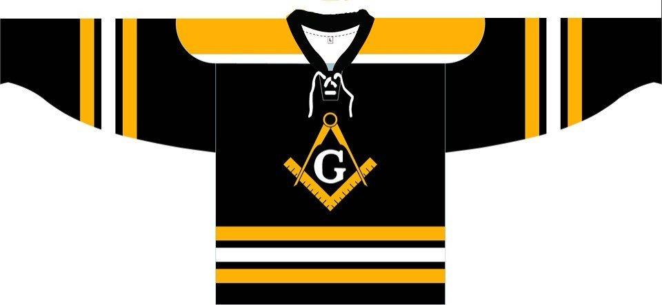 """""""The Shore"""" Hockey Jersey - Boston Inspired"""