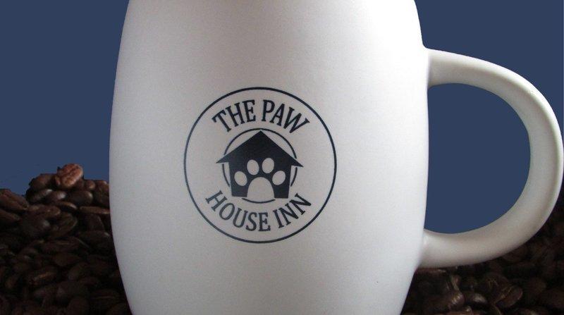 Paw House Inn Ceramic Mug
