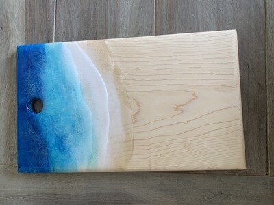 Cheese Board Maple Resin Beach Available @Mukluk Magpies In Airdrie, Ab