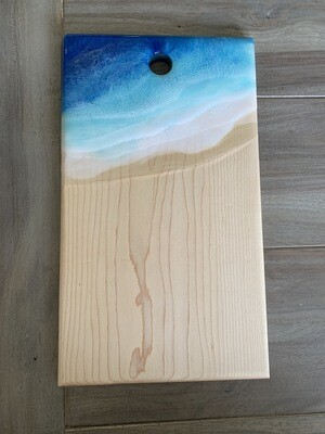 Cheese Board Maple Resin Beach Available @ MukLuk Magpies In Airdrie, Ab